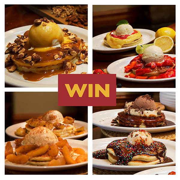 Pancake Parlour competition that received an outstanding response with over 800 entries!