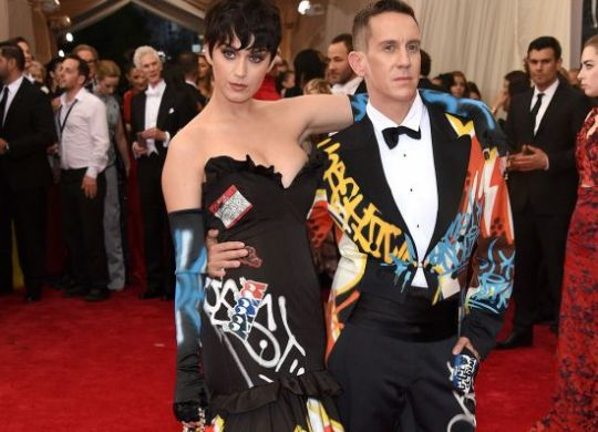 Katy Perry & Jeremy Scot at the Met Gala 2015
